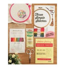 Jen Senor, Instructor 04/12/18:  (Thursday) Jen's Intro to Hand Embroidery Class