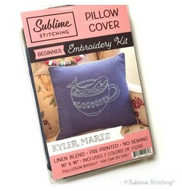 Sublime Stitching Embroidery Kit, Pillow Cover: Kyler Martz for Sublime Stitching