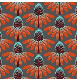 Anna Maria Horner Floral Retrospective, Echinacea in Berry, Fabric Half-Yards