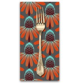 PD's Anna Maria Horner Collection Floral Retrospective, Echinacea in Berry, Dinner Napkin
