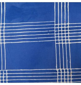 Alison Glass Chroma - A Handcrafted Collection, Plaid in Cobalt, Fabric Half-Yards AB-8132-B