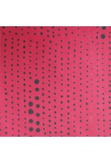 Alison Glass Chroma - A Handcrafted Collection, Pinpoint in Strawberry, Fabric Half-Yards