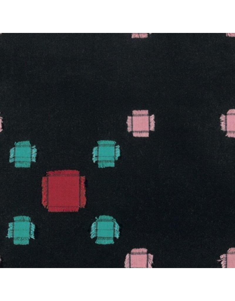 Anna Maria Horner Loominous Yarn Dyed Woven, Treasure in Castle, Fabric Half-Yards
