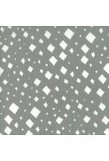 Gingiber Savannah, Diamonds in Pewter, Fabric Half-Yards