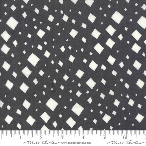 Gingiber Savannah, Diamonds in Charcoal, Fabric Half-Yards