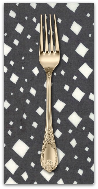 PD's Moda Collection Savannah, Diamonds in Charcoal, Dinner Napkin