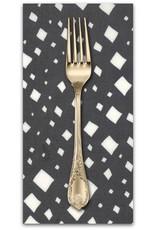 Picking Daisies Dinner Napkin Kit: Savannah, Diamonds in Charcoal