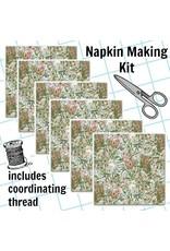 Picking Daisies Dinner Napkin Kit: Winter News, Frolicking in Grey