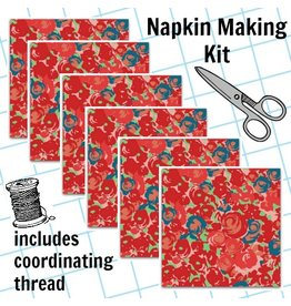 Picking Daisies Dinner Napkin Kit: Futurum, Grow in Warm