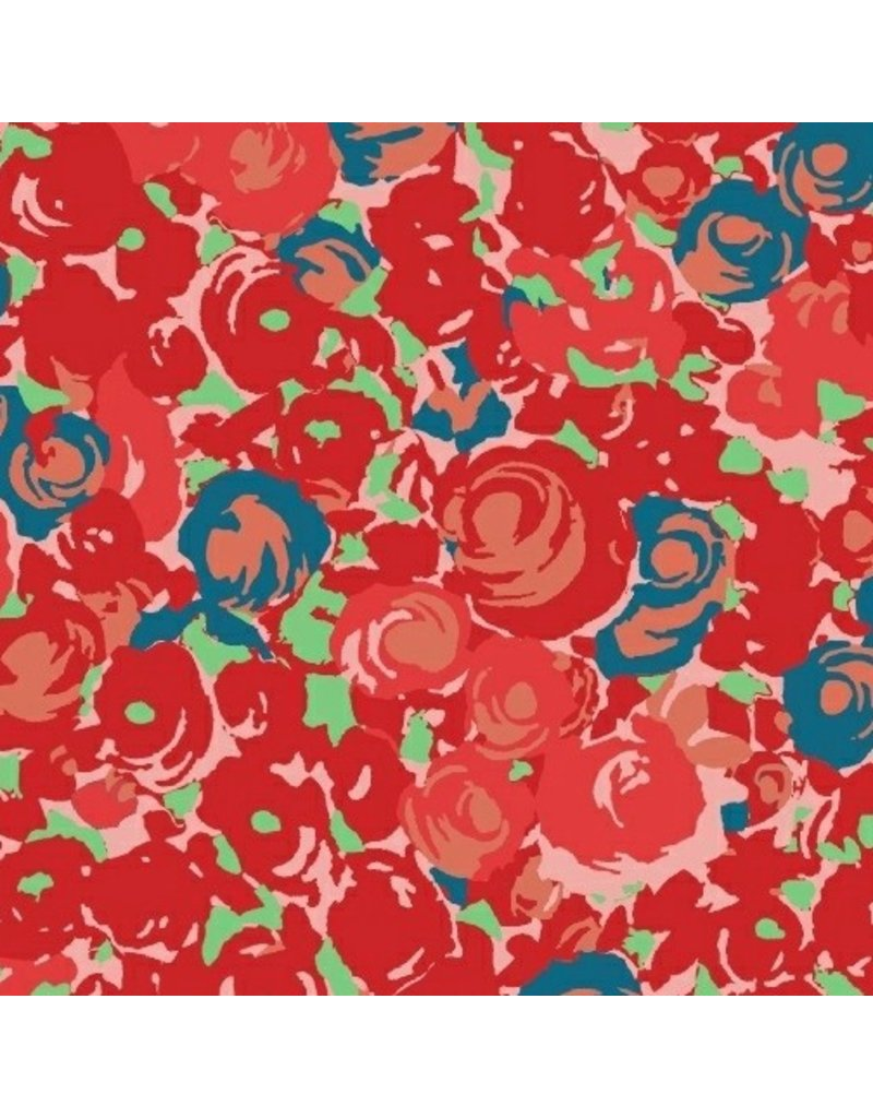 Victoria Findlay Wolfe Futurum, Grow in Warm, Fabric Half-Yards