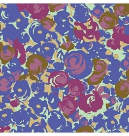 Victoria Findlay Wolfe Futurum, Grow in Cool, Fabric Half-Yards