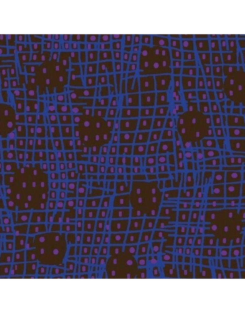 Victoria Findlay Wolfe Futurum, Shift in Dark, Fabric Half-Yards