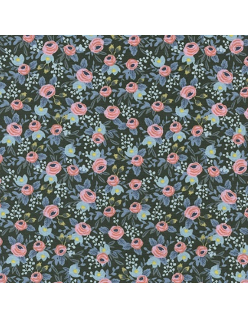 Rifle Paper Co. Menagerie, Rosa in Hunter 8004-05, Fabric Half-Yards