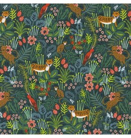 Rifle Paper Co. Menagerie, Jungle in Hunter 8029-01, Fabric Half-Yards