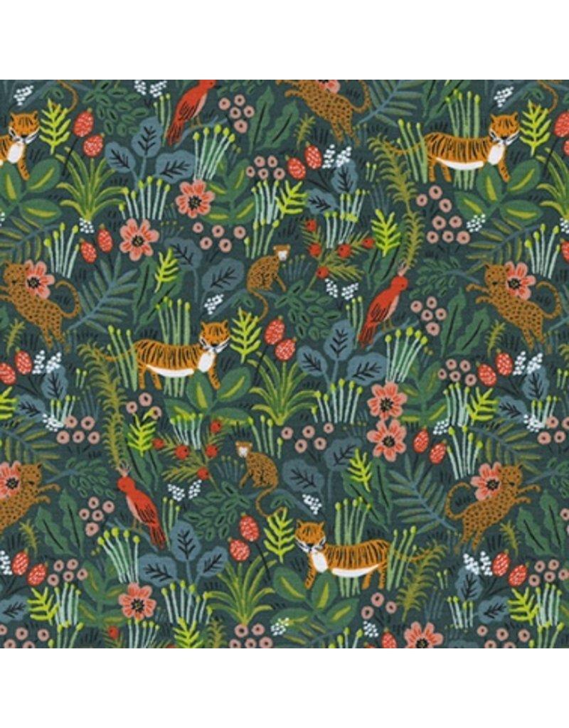 Rifle Paper Co. Menagerie, Jungle in Hunter 8029-01, Fabric Half-Yards