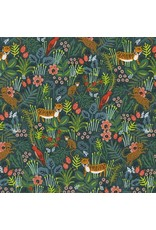 PD's Rifle Paper Co Collection Menagerie, Jungle in Hunter, Dinner Napkin