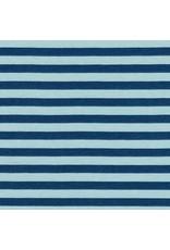 Carolyn Friedlander Blake Cotton Jersey, Fog AFR-17065-336, Fabric Half-Yards