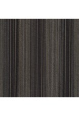 Jennifer Sampou Shimmer On Yarn Dyed, Stripes in Charcoal AJSM-17066-184, Fabric Half-Yards