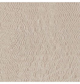 Jennifer Sampou Shimmer On, Net in Smoke, Fabric Half-Yards AJSP-17027-293