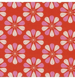 Cotton + Steel Beauty Shop, Shower Cap in Red C6006-01, Fabric Half-Yards