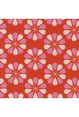 Picking Daisies Dinner Napkin Kit: Beauty Shop, Shower Cap in Red