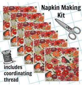 Picking Daisies Dinner Napkin Kit: In the Kitchen, Birdland in Tea