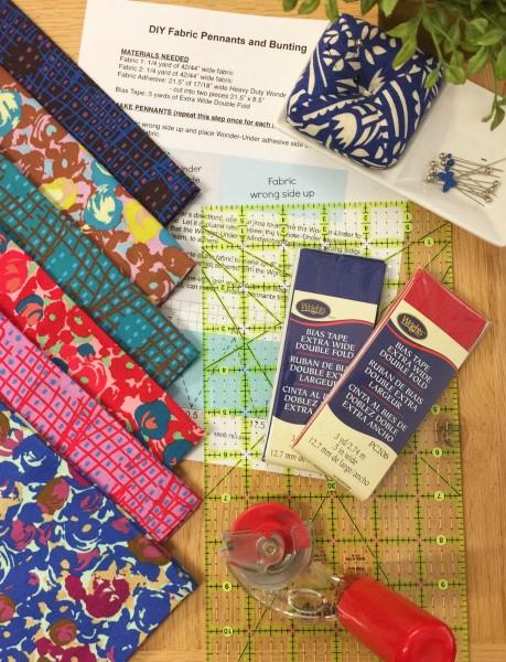 Victoria Findlay Wolfe Futurum, Shift in Magenta, Fabric Half-Yards