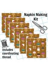Picking Daisies Dinner Napkin Kit: Bake Shop, Sweet Cakes in Cinnamon
