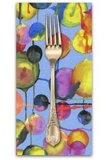 Picking Daisies Dinner Napkin Kit: Koi Garden, Bubbles in Blue