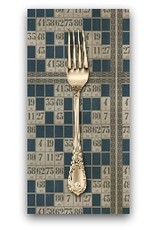 PD's Tim Holtz Collection Dapper, Game Cards in Blue, Dinner Napkin
