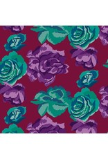PD's Kaffe Fassett Collection Kaffe Collective Fall 2017, Rose Clouds in Maroon, Dinner Napkin