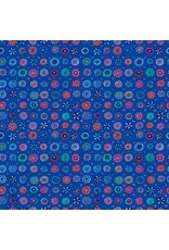 Kaffe Fassett Kaffe Collective Fall 2017, Whirligig in Blue, Fabric Half-Yards  PWGP166