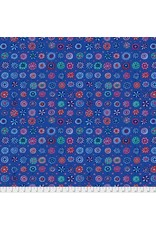Kaffe Fassett Kaffe Collective, Whirligig in Blue, Fabric Half-Yards  PWGP166
