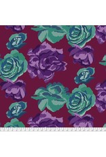 Kaffe Fassett Kaffe Collective Fall 2017, Rose Clouds in Maroon, Fabric Half-Yards  PWGP164