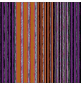 Kaffe Fassett Kaffe Collective Fall 2017, Regimental Stripe in Dark, Fabric Half-Yards  PWGP163