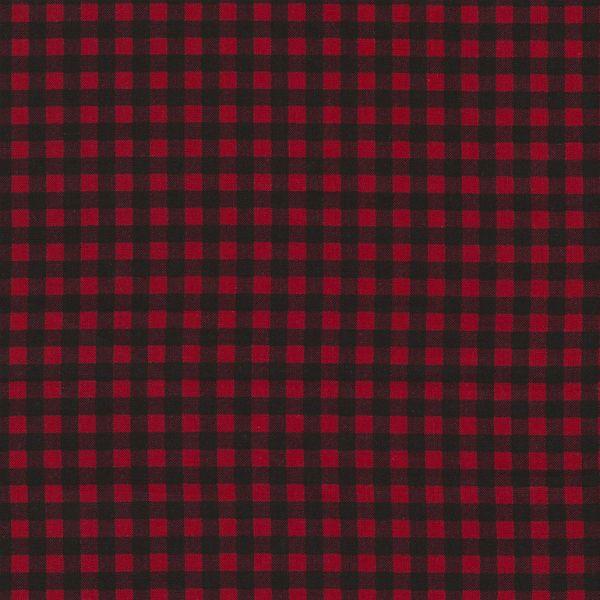 Timeless Treasures Fun, Plaid in Red, Fabric Half-Yards C5576