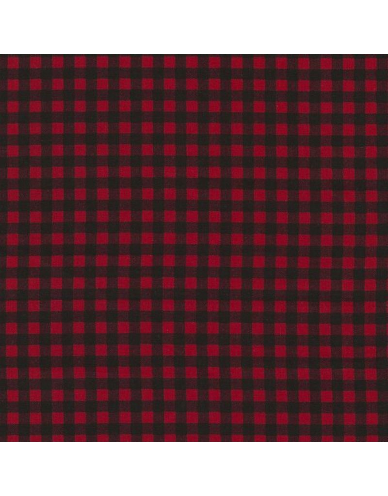 PD's Timeless Treasures Collection Fun, Plaid in Red, Dinner Napkin