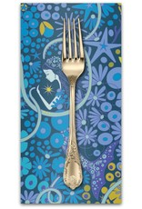 Picking Daisies Dinner Napkin Kit: Diving Board, Lagoon in Pearl