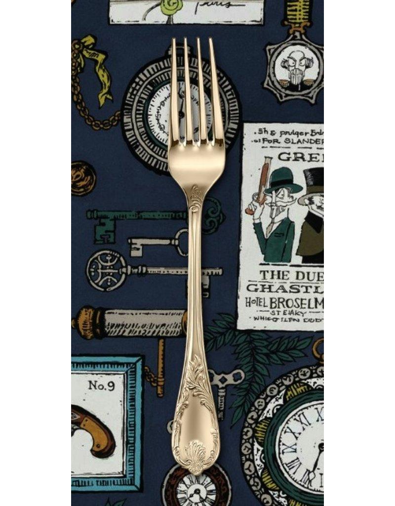 PD's Alexander Henry Collection A Ghastlie Duel in Potion Blue, Dinner Napkin