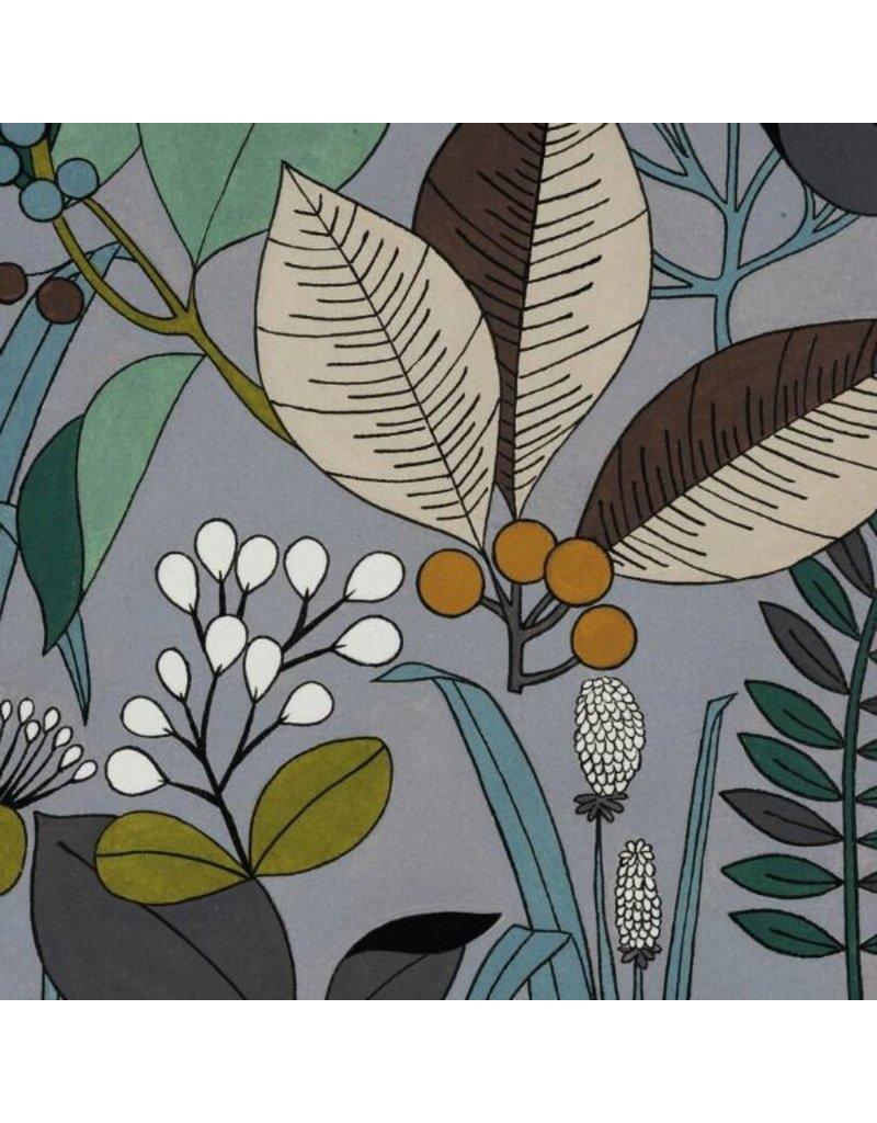 Alexander Henry Fabrics The Ghastlies, A Ghastlie Botanical in Sage Gray, Fabric Half-Yards 8594C