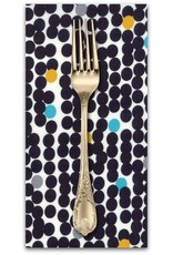 PD's Moda Collection Fragile, Big Dots in Black, Dinner Napkin