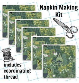 Picking Daisies Dinner Napkin Kit: Garden Sanctuary in Eden