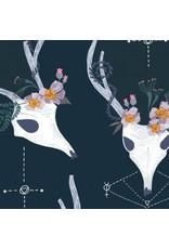 Picking Daisies Dinner Napkin Kit: Magik, Deer in Phantom