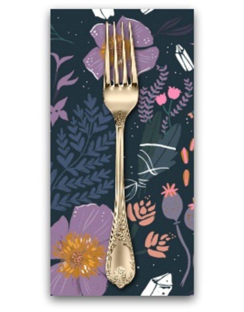 Picking Daisies Dinner Napkin Kit: Magik, Magik Floral in Multi