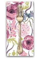 Picking Daisies Dinner Napkin Kit: Magik Sanctuary, Blooming Garden in White