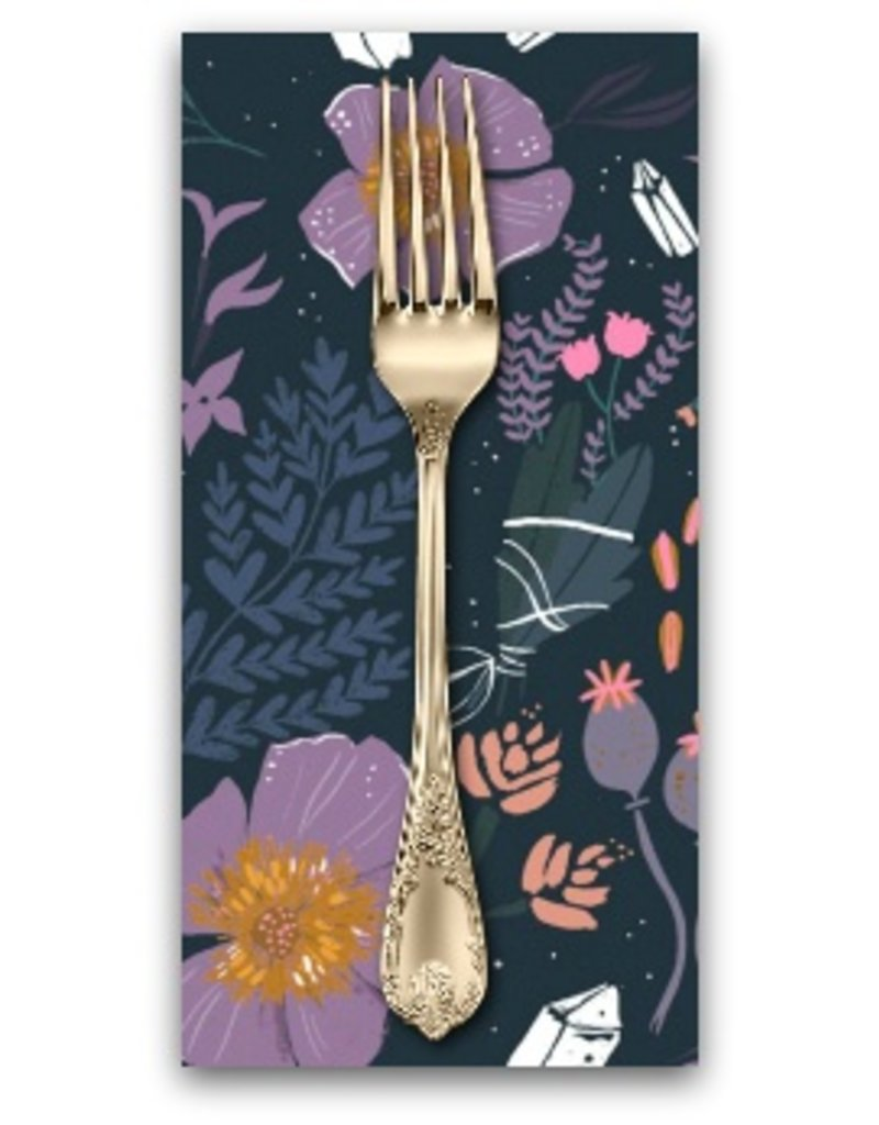 PD's Rae Ritchie Collection Magik, Floral in Multi, Dinner Napkin
