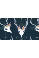 PD's Rae Ritchie Collection Magik, Deer in Phantom, Dinner Napkin