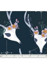 Rae Ritchie Magik, Deer in Phantom, Fabric Half-Yards STELLA-SRR875