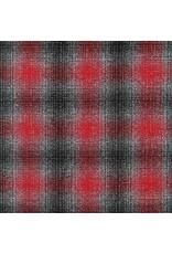 Robert Kaufman Yarn Dyed Cotton Flannel, Mammoth Flannel in Platinum, Fabric Half-Yards SRKF-14898-187