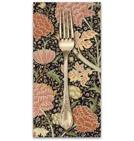 PD's William Morris Collection William Morris 2017, Cray in Ebony, Dinner Napkin